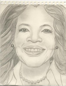 Oprah Winfrey, My Second Celebrity Sketch