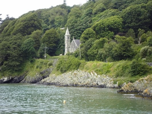 Beautiful Glandore church