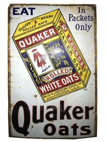 early Quaker Oats ad