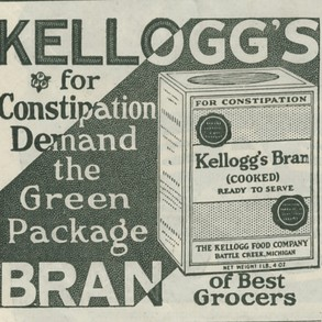 early Kellogg's ad
