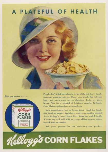 1920's Cereal ad