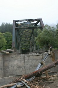 Royalton Bridge After Hurricane Irene