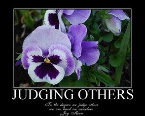 How not to Judge Others - In Pictures