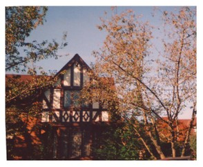 tudor and brick house