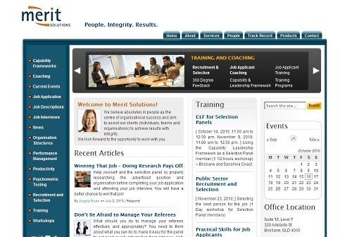 Merit Solutions Australia - Creative web design