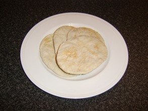 Plain pitta bread