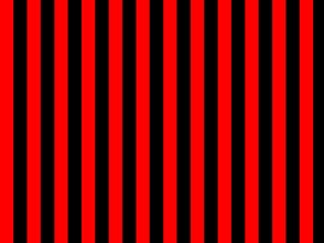 Red and Black Pirate Stripes