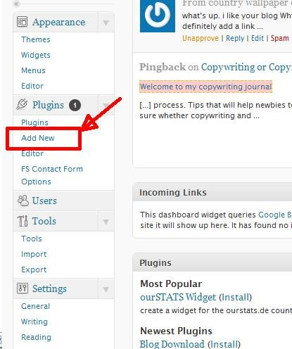 add wordpress plugin