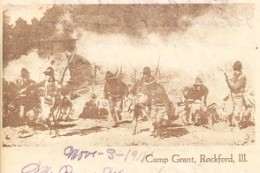 Camp Grant Illinois Letterhead