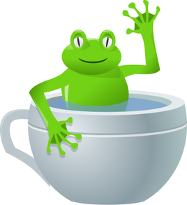 frog in my tea