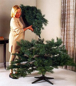 Fake Christmas Tree Assembly