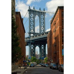 Manhattan Bridge To Empire State Building