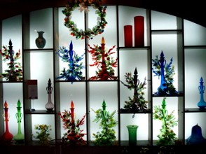 Hand Blown Glassware at the Factory in Naha City
