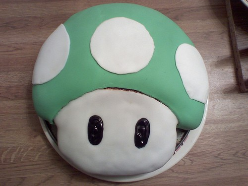 Mario Bros Birthday Cakes