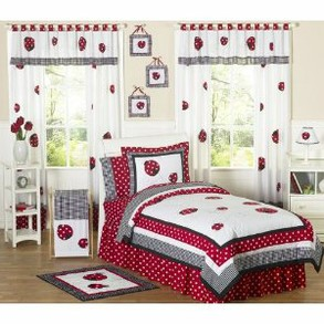 Lady Bug Bedroom
