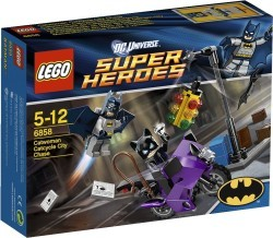 Catwoman Lego Super Heroes Set
