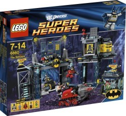 The Batcave Lego Set