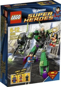 Superman V Lex Luthor Lego Set