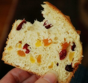 Pannetone With Candied Fruit
