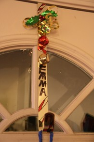 Decorated Wreath Hanger
