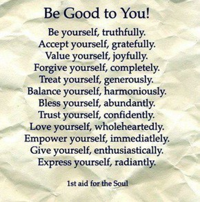 Be good to you!
