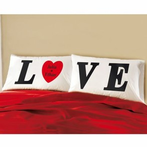 Love Pillow Case set