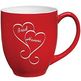 Interlocking Hearts Mug