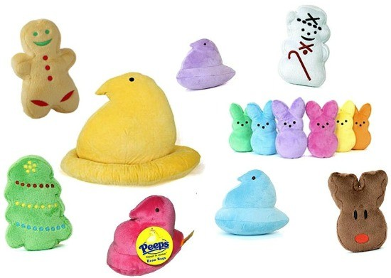 Fun gifts for marshmallow peeps lovers plush peeps negle Gallery