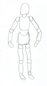 Art Manikin Sketch #1