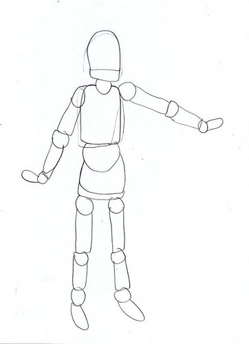 Artist Mannequin for Children Who Want to Learn to Draw