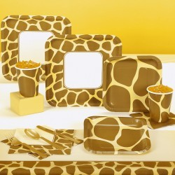 Giraffe Print Party Pack