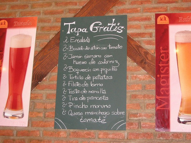 Reading Menus in Spanish is Easier if You Know the Language