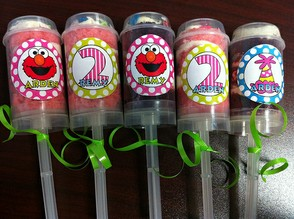 Sesame Street Push Up Pops