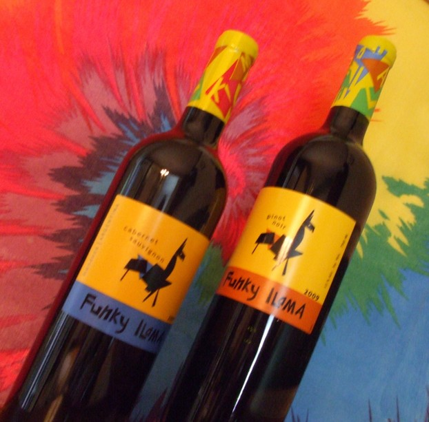 Funky Wine for Aging Hippies
