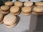 Completed macarons