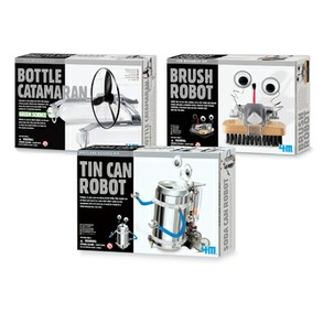 Recycled Robots Kit -- Set of Three
