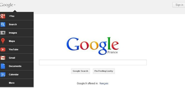 Google France in English