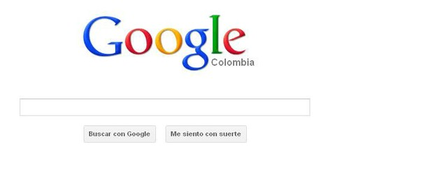 Google Colombia in Spanish