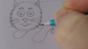 Cat Cartoon Art