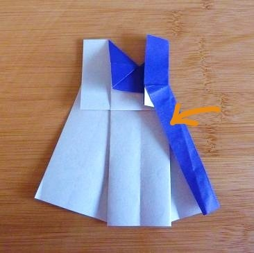 Complete Origami Dress Instructions  Wizzley