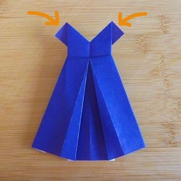 How to make origami girls skirts step by step diy tutorial.