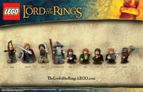 Lego Lord of the Rings Minifigures