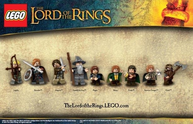 The Fellowship of the Ring Minifigures