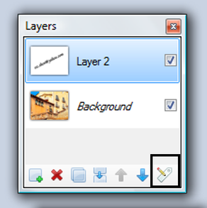 Layers Window