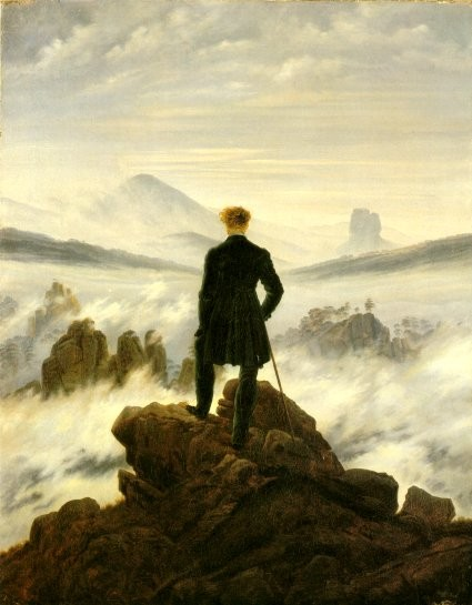Image: Wanderer above the Sea of Fog (1818)