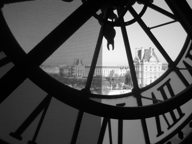 Clock at the Musée d'Orsay