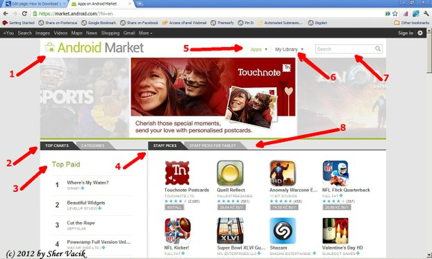 how to download android market