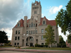 Hancock County Courthouse, Greenfield, IN