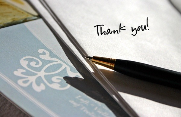 how to write a sincere thank you letter