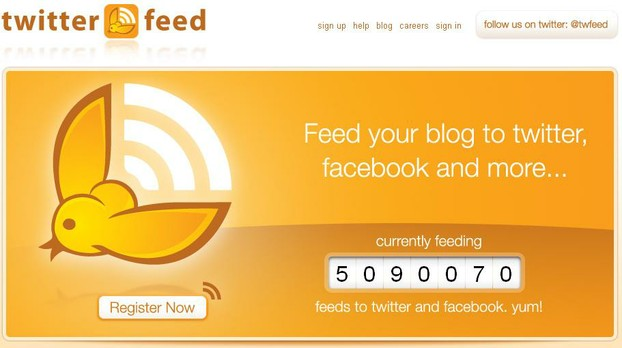 Twitterfeed: feed your blog to Twitter, Facebook, LinkedIn and ......
